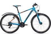 "CUBE AIM 27.5 AllRoad 14"" (27.5W) blue/flashorange  click to zoom image"
