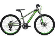 CUBE Kid 240 Disc  grey/flashgreen  click to zoom image
