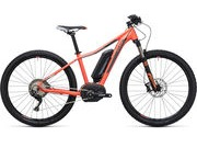"CUBE Access WLS Hybrid Race 500 14"" (27.5W) coral/grey  click to zoom image"