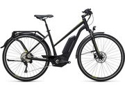 CUBE Touring Hybrid EXC 500 Womens 46cm black/lime  click to zoom image