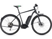 CUBE Cross Hybrid Pro AllRoad 400 50cm grey/grn  click to zoom image