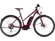 CUBE Cross Hybrid Pro AllRoad 400 T 46cm darkred  click to zoom image