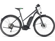 CUBE Cross Hybrid Pro AllRoad 500 T 46cm grey/grn  click to zoom image