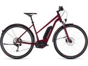 CUBE Cross Hybrid Pro AllRoad 500 T 46cm darkred  click to zoom image