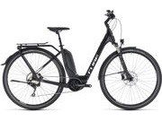 CUBE Touring Hybrid Pro 400 EE 46cm black/white  click to zoom image