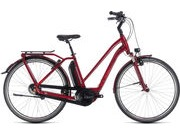 CUBE Town Hybrid Pro 400 T 46cm darkred/red  click to zoom image