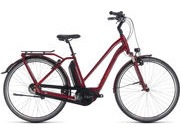 CUBE Town Hybrid Pro 500 T 46cm darkred/red  click to zoom image