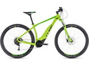 "CUBE Acid Hybrid One 400 29 T 15"" green/blk  click to zoom image"
