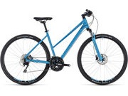 CUBE Nature EXC T 46cm blue/blue  click to zoom image