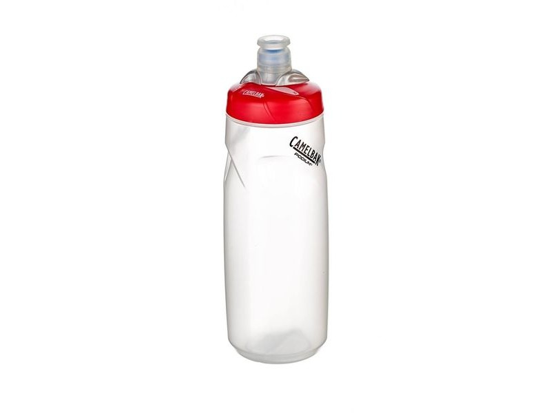 CAMELBAK Podium Clear/Red Cap 710ML Bottle click to zoom image