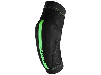 SCOTT Elbow Guards Soldier Black/Fluorescent Green
