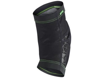 SCOTT Knee Guard Soldier Black/Fluorescent green click to zoom image