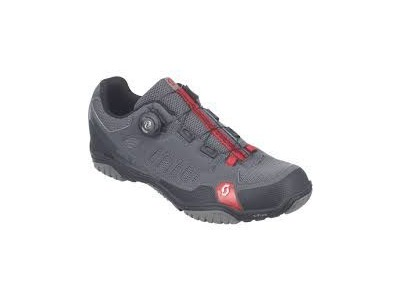 SCOTT Crus-R Boa Anthracite/Red
