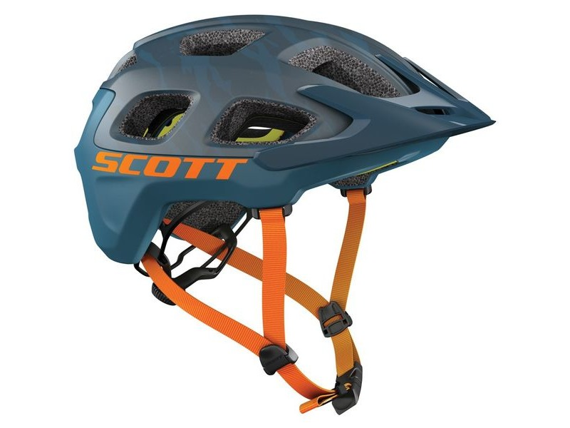 SCOTT Vivo Plus Helmet Blue Orange click to zoom image