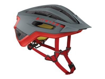 SCOTT Fuga Plus Rev (CE) Helmet Grey Red