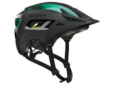 SCOTT Scott Stego Helmet Black Teal blue