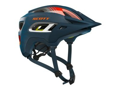 SCOTT Scott Stego Helmet Blue Orange