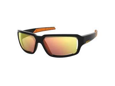 SCOTT Scott Obsess ACS Glasses  Black/Orange/Red Chrome  click to zoom image