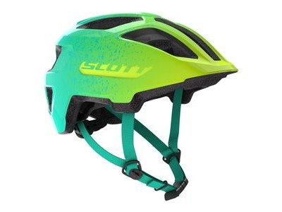 SCOTT Spunto Junior One Size Teal Green/Sulphur Yellow  click to zoom image