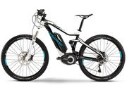 HAIBIKE XDURO Fullseven RC 40cm Black/White/Cyan  click to zoom image