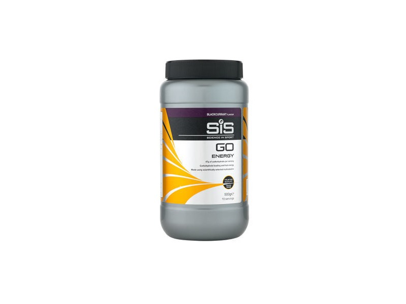 SCIENCE IN SPORT Science in Sport GO Energy 500g Tub Blackcurrant click to zoom image