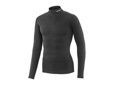 GIANT 3D Mock Long Sleeve Base Layer Black