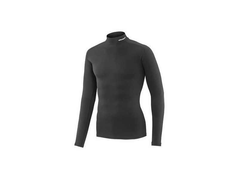 GIANT 3D Mock Long Sleeve Base Layer Black click to zoom image