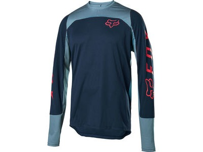FOX CLOTHING Defend LS Jersey Navy