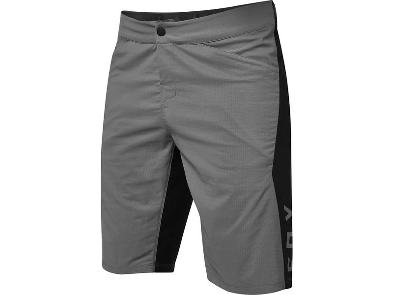 FOX CLOTHING Ranger Water Short Pewter/Black click to zoom image