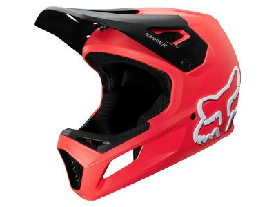 FOX CLOTHING Rampage Full Face Helmet Red