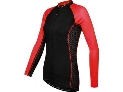 FUNKIER Atheni WJ-784 Long Sleeve Jersey Black/Red