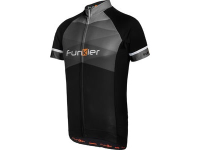 FUNKIER Rideline Gents Short Sleeve Jersey Black/Grey