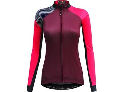 FUNKIER Mataro Ladies Thermal Long Sleeve Jersey Merlot