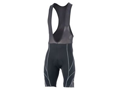 FUNKIER Pro 17 Panel Bib Shorts S922-C7 Black