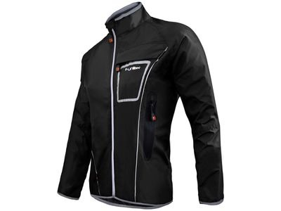 FUNKIER Waterproof Rain Jacket WJ-1317 Black
