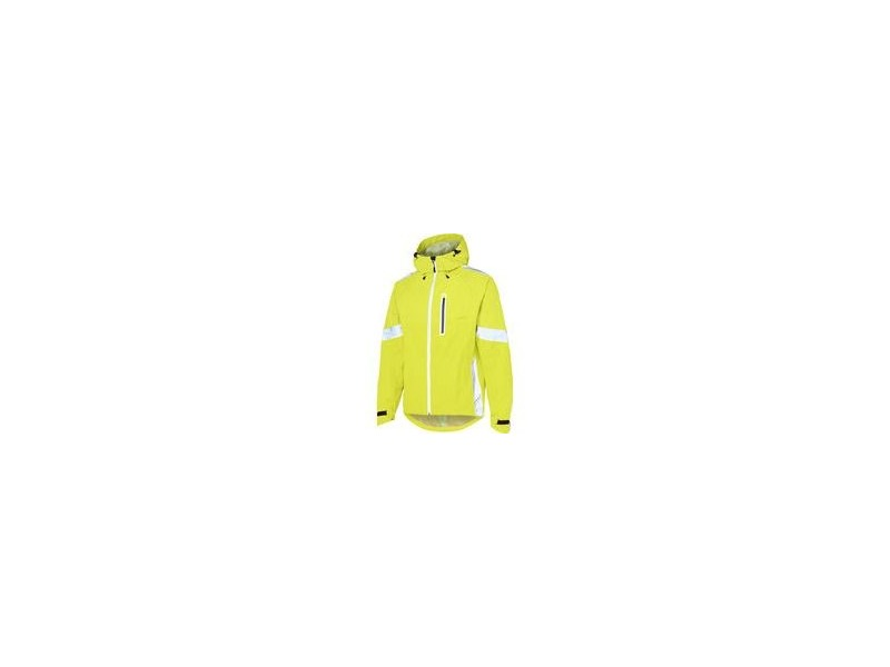 MADISON Prime Men's Waterproof Jacket Hi-Viz click to zoom image