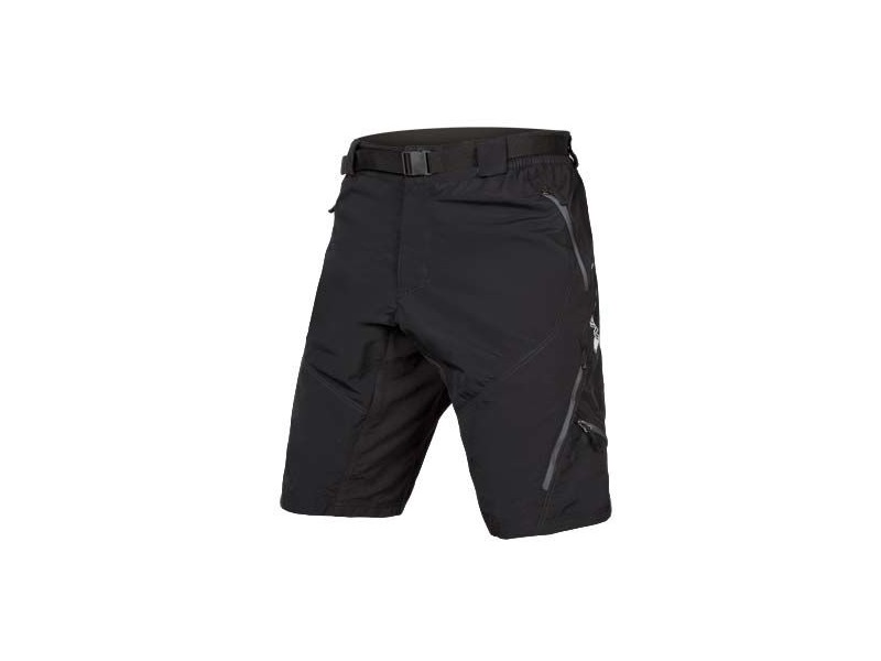 ENDURA Hummvee Short II Black (With Liner) click to zoom image