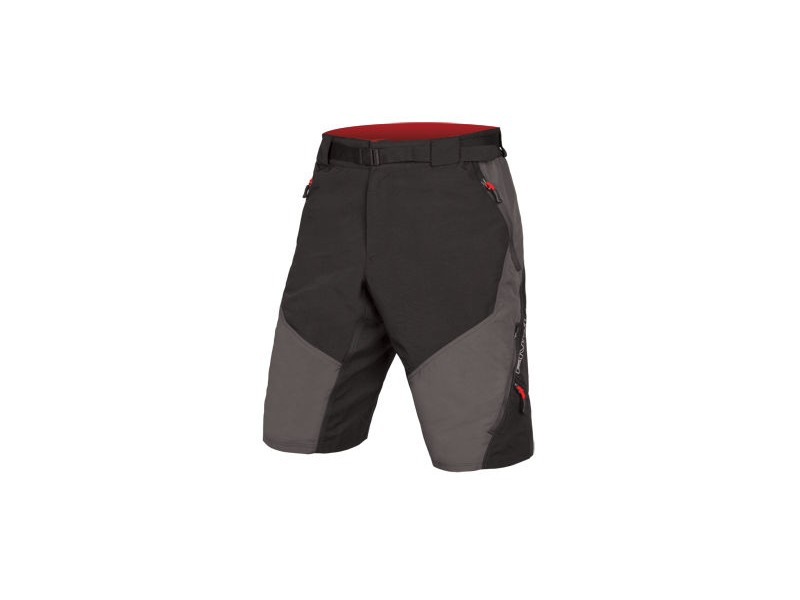 ENDURA Hummvee Short II Grey (With Liner) click to zoom image