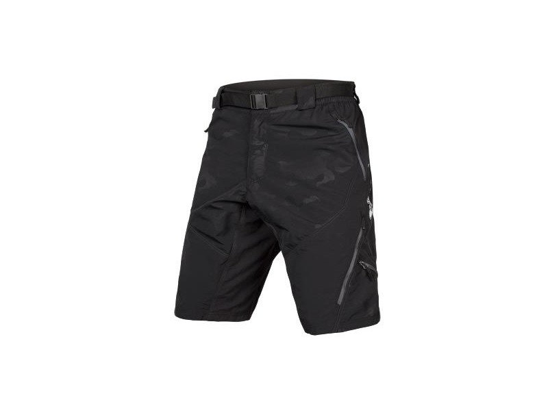 ENDURA Hummvee Short II Black Camo (With Liner) click to zoom image