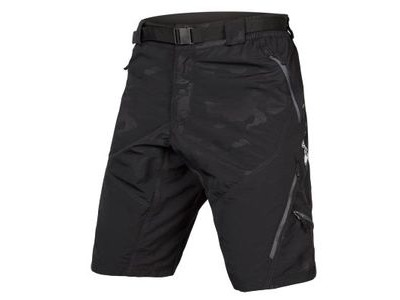 ENDURA Hummvee Short II Black Camo (With Liner)