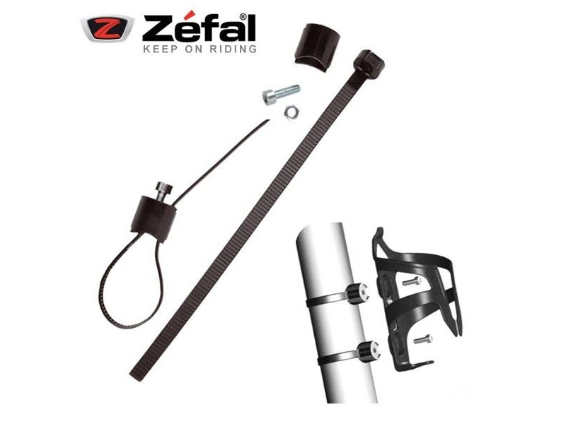 ZEFAL Gizmo Universal Clamp for Mounting Bottle Cage click to zoom image