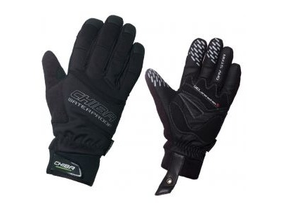 CHIBA Drystar Plus Waterproof Glove in Black