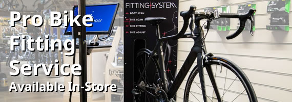 Pro Bike Fitting Service, available in-store